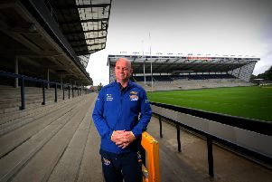 New Leeds Rhinos Coach Richard Agar.