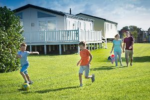 Fun for all the family at Cayton Bay Holiday Park.