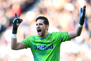 Kiko Casilla has been well protected by his Leeds United defence this season (Pic: Getty)