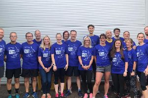 Members of  Riversway Road Runners ran 12 park runs in one day for Mummys Star, which looks after women and their families impacted by cancer during pregnancy and shortly after birth.