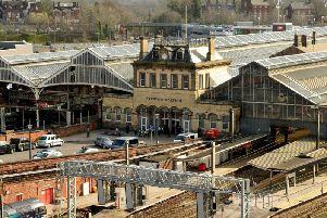 Preston's train station