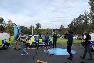BBC One's Crimewatch Roadshow is live in Preston this morning from 9.15am