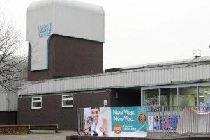 The 45-year-old Leyland leisure centre