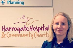 Jackie Crozier is the new head of the Harrogate Hospital and Community Charity.
