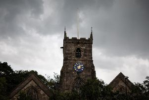 St Laurences Church has links to the Standish family