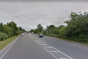 Parts of the A582 are two lanes each way on the approach to junctions, but much of it remains single carriageway