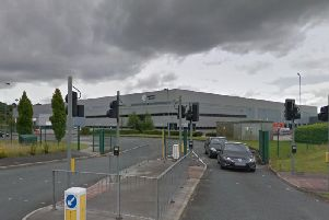 The 300,000 square foot Logistics House distribution warehouse at Revolution Park in Buckshaw Village has been bought by Chorley Council as part of a 33 million package to secure more than 300 jobs in the borough (Image: Google Maps)