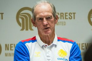 Great Britian and England coach Wayne Bennett.