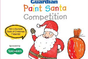There's a bumper bag of goodies to win in our Paint Santa competition