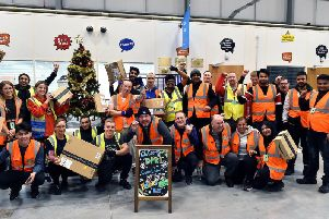 Amazon's delivery station in Leyland organised a series of celebratory events to mark the annual Black Friday and Cyber Monday sales