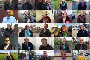Just some of the candidates seeking your support in Central Lancashire