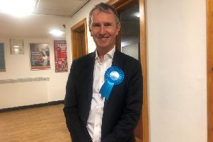 Conservative Nigel Evans has been elected as the Ribble Valley MP in the General Elections 2019.