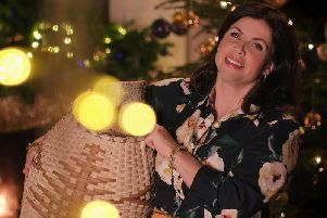 Kirstie Allsopp showed off her handmade Christmas. Picture: Channel 4