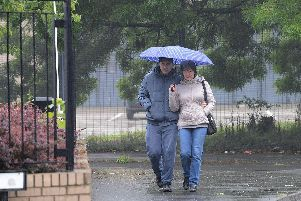 Cloudy day for Nottinghamshire with sunshine and showers