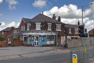 Three men have been arrested after an armed robbery at the NSS News shop in Wigan Road, Leyland at 2.40pm yesterday (December 23). Pic: Google