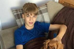 Lewis Connoly (Pictured) was last seenwearing black tracksuit pants, a black hoodieand black Nike trainers. (Credit: Lancashire Police)