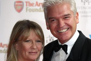 Phillip Schofield and his wife Stephanie