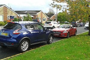 Cairndale Road - one of the roads on the Worden estate where there have been increased reports of illegal parking