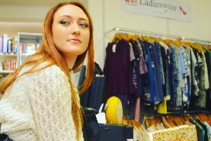 The Post tasked singer and fashion fan Katrina-Marie Howson to find three outfits on a shoestring at the St Catherines Hospice shop in Lostock Hall.