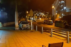 Tenerife's streets, normally bustling at night, are deserted