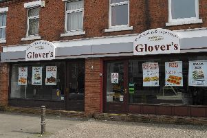 Glover's bakery shut in Leyland Lane, Leyland today (Tuesday, March 24)