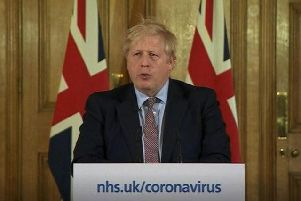 Boris Johnson has been moved from intensive care back to the ward at St Thomas' Hospital.