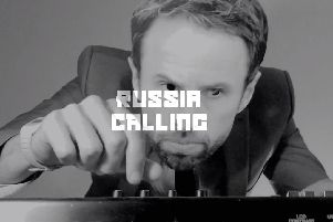 Gareth Southgate on the decks in the music video for Russia Calling (Get on the Plane). Credit: The Diamond Formation and Ben J Franklin.