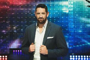 Stu Bennett, formerly known as Wade Barrett at the WWE (All images courtesy of ITV)
