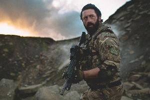 Leyland-born Mark Strange has acted in, produced, and written new action-horror film Redcon-1 which was partly filmed in his South Ribble home town (Photos by Zak Chowdhury)