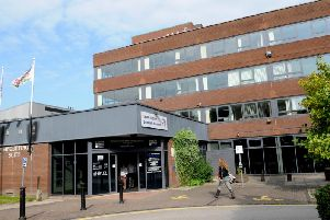 The South Ribble Civic Centre