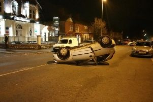 The incident in Talbot Road, Layton