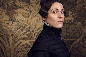 Suranne Jones as Anne Lister. Picture: BBC