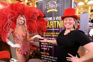 The team from Viva Blackpool were there to add some razzmatazz. Nicola Stott, business development manager there, said: We have had a very productive day, lots of interested people asking about our shows and events.'People are here for a reason its all bout enhancing the visitor experience for their guests.