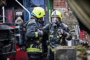Firefighters from Chorley were called to an incident involving a spillage of mercury from a broken barometer at a home in Runshaw Lane, Euxton on Monday, April 9.
