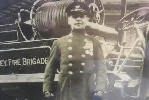John Smith who served in the Chorley Fire Brigade in the early 1900s.