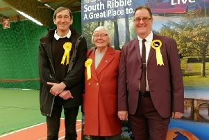 The Lib Dems gained three seats - and could gain a far greater say in how the council is run.