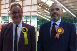 Lib Dem leader David Howarth and Labour leader Paul Foster have come together to do a deal