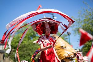 The 2019 Hebden Bridge Handmade Parade will take place on Sunday, June 30. Photo by Graham Wynne