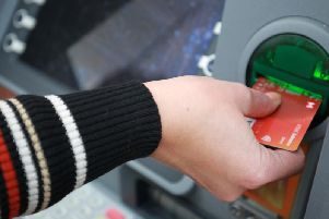 The number of cash machines in Burnley is declining