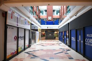 """Shops in the Guild Hall arcade insist they are """"open as usual."""""""