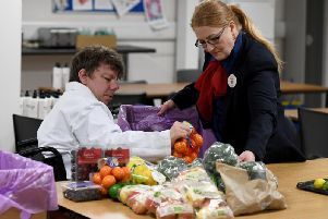 Tescos Community Food Connection scheme, in conjunction with FareShare