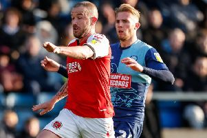 Fleetwood Town's Paddy Madden