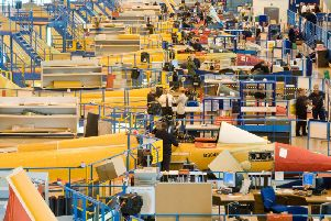 The Typhoon production line at Warton