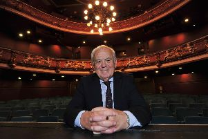 Inside Harrogate's greatest venue - Jim Clark who is proud of what he helped achieve at Harrogate Theatre as chairman for 10 years. (Picture by Gerard Binks)