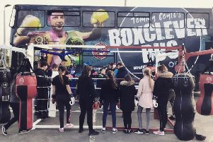 Image from Boxclever Bus Instagram.