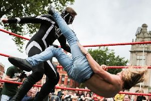 Preston Flag Market plays host to Live PCW Wrestling