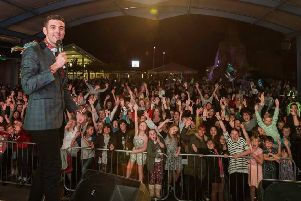 Presenter Ryan Swain was put forward to represent the North of England after topping an online poll on Facebook with 3.300 votes earlier this month.