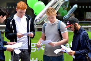 These are all the A-Level results from across the Wakefield district for Thursday, August 15, 2019.
