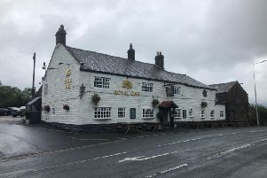 The Royal Oak at Riley Green.