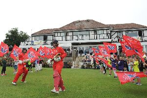 Lancashire Thunder received a special Blackpool welcome on their previous visit to Stanley Park last summer